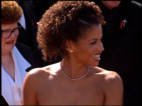 Gloria Reuben at the 1999 Emmy Awards at the Shrine Auditorium in Los Angeles California on September 12 1999