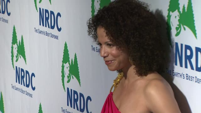 gloria reuben at the national resources defense council's 20th anniversary celebration at beverly hills ca - national resources defense council stock videos & royalty-free footage