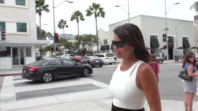 Gloria Reuben shopping in Beverly Hills in Celebrity Sightings in Los Angeles