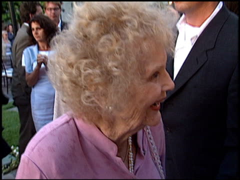 gloria stuart at the premiere of 'the score' at paramount studios in hollywood california on july 9 2001 - paramount studios stock videos and b-roll footage