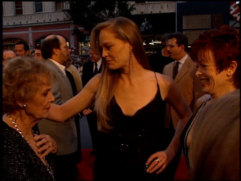 gloria stuart at the 'titanic' premiere at grauman's chinese theatre in hollywood, california on december 14, 1997. - premiere stock videos & royalty-free footage