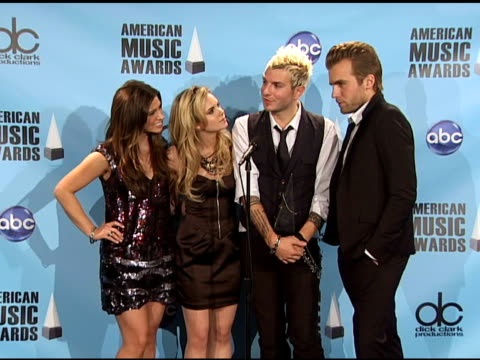 Gloriana on what it is like to win where they are going to be touring Taylor Swift's reaction to their win their favorite album of the year at the...