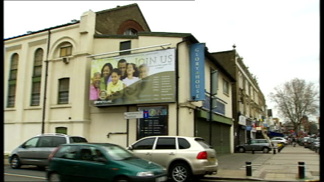 Glory House International pastor charged with sex offences General views of Glory House International church building and sign