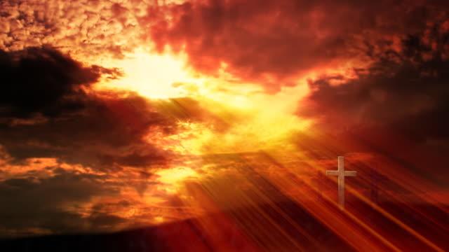 Glory of God. Loop - HD