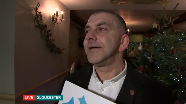 Gloucester taxi driver wins 255 million lottery jackpot LIVE Gloucestershire Gloucester INT Amo Riselli and Lisa Riselli interview SOT/