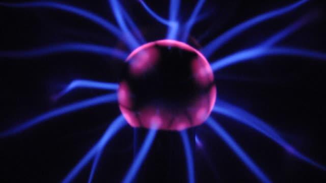 Glowing Ball Electricity van der graaf generator