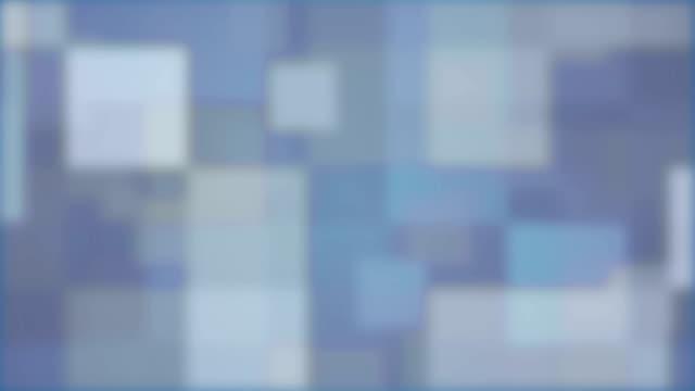 Glowing Blue Blocks
