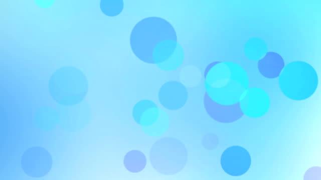 vidéos et rushes de particules, bouclables bleu éclatant - surexposition effet visuel