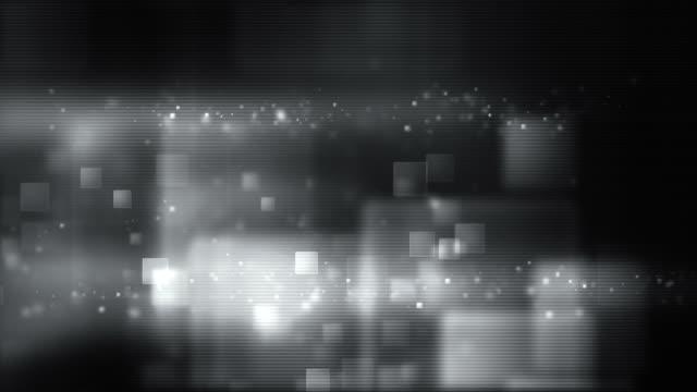 Glowing Boxes Full Screen - Night Silver (HD)