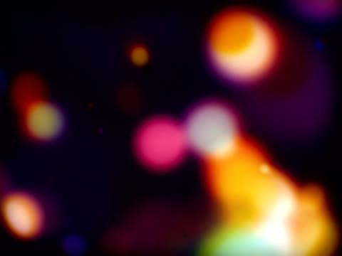 stockvideo's en b-roll-footage met glowing bubbles - flitser