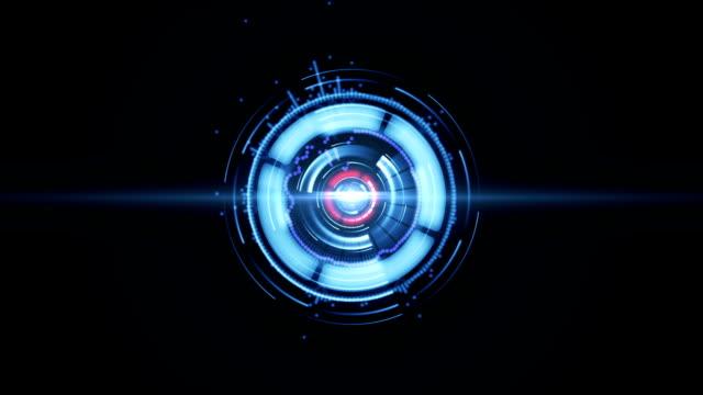 Leuchtende digitale element-Hintergrund