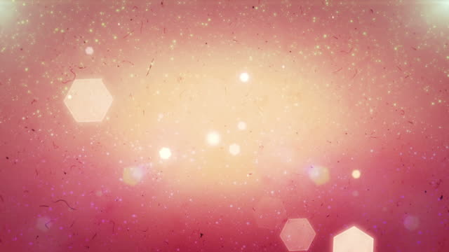 stockvideo's en b-roll-footage met glowing hearts bokeh, cool abstract hexagons, vibrant background - roze achtergrond