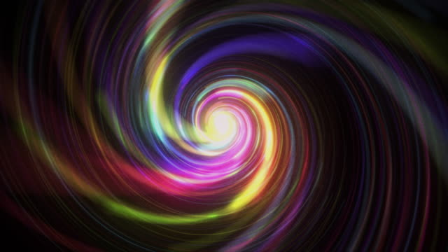 glowing lights spiral retro style - dance studio stock videos & royalty-free footage
