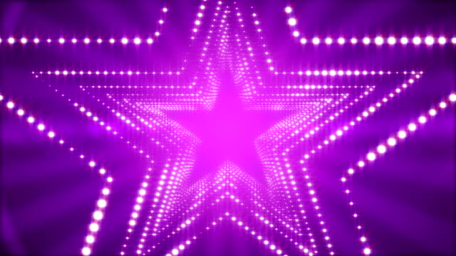 glowing lights stargate loop background 4k - nightlife stock videos & royalty-free footage