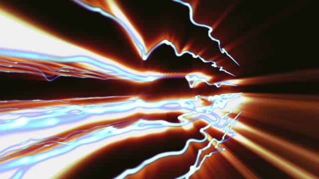 Leuchtende Linien Loop