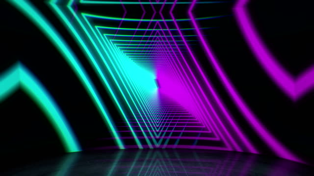 glowing neon lights background - video jockey stock videos & royalty-free footage