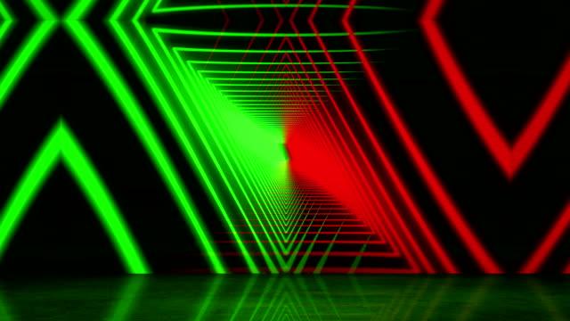 vídeos de stock, filmes e b-roll de fundo de luzes neon brilhantes - psychedelic