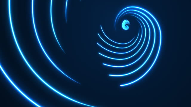vídeos de stock e filmes b-roll de glowing neon lights - golden ratio backgrounds - loopable - proporção áurea