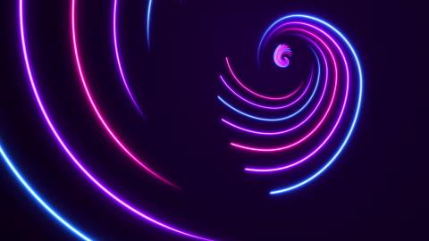 vídeos y material grabado en eventos de stock de luces de neón brillantes-fondos de la relación dorada-loopable - luz led