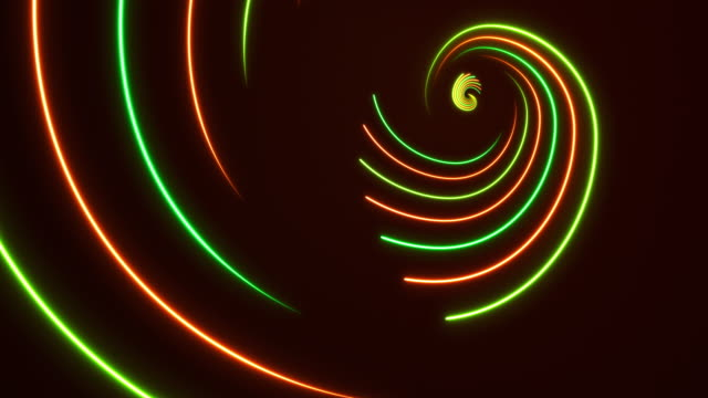 glowing neon lights - golden ratio backgrounds - loopable - golden ratio stock videos & royalty-free footage
