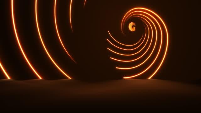 vidéos et rushes de néon lumineux-golden ratio backgrounds-loopable - nombre d'or