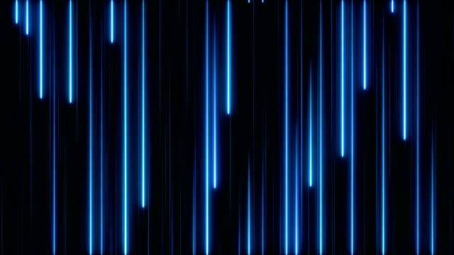 glowing neon lights - loopable - in a row stock videos & royalty-free footage