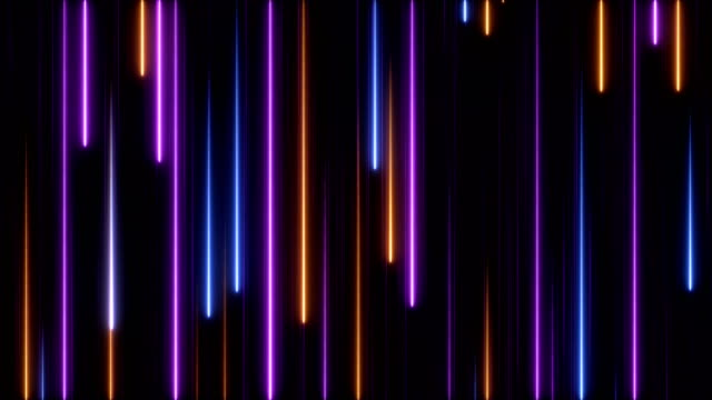 glowing neon lights - loopable - video jockey stock videos & royalty-free footage