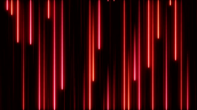 glowing neon lights - loopable - striped stock videos and b-roll footage