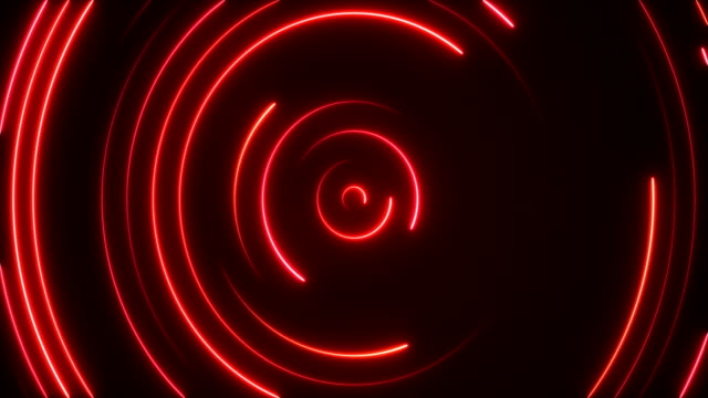 glowing neon lights - loopable - red stock videos & royalty-free footage