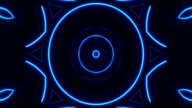 Glowing Neon Lights - Loopable