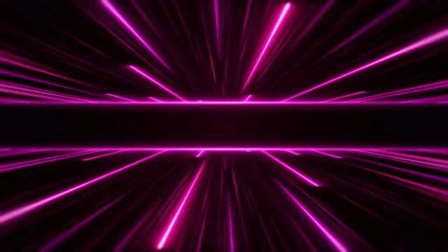 glowing neon lights - loopable - neon colored stock videos & royalty-free footage