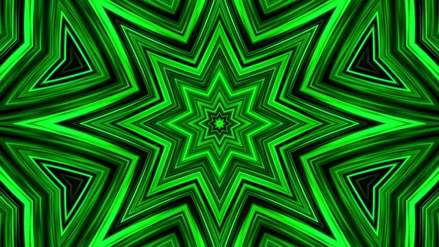 glowing neon lights - loopable - grön färg bildbanksvideor och videomaterial från bakom kulisserna