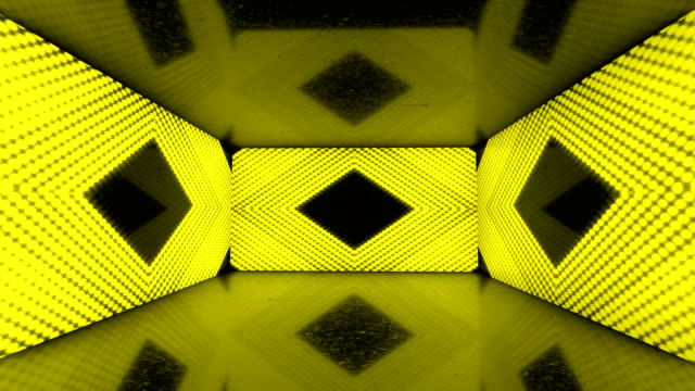 glowing neon lights room - colorful ratio backgrounds - loopable stock video - sfondo multicolore video stock e b–roll