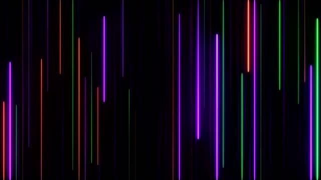 glödande neonljus - visuellt hjälpmedel bildbanksvideor och videomaterial från bakom kulisserna