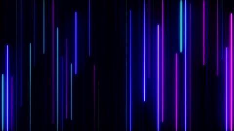 vídeos y material grabado en eventos de stock de luces de neón que brilla intensamente - abstracto