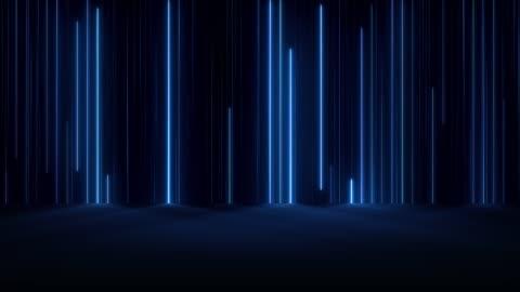 vídeos y material grabado en eventos de stock de luces de neón brillantes - imagen generada digitalmente