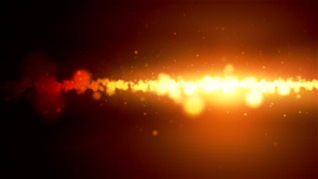 Glowing Particles Loop - Orange (HD 1080)