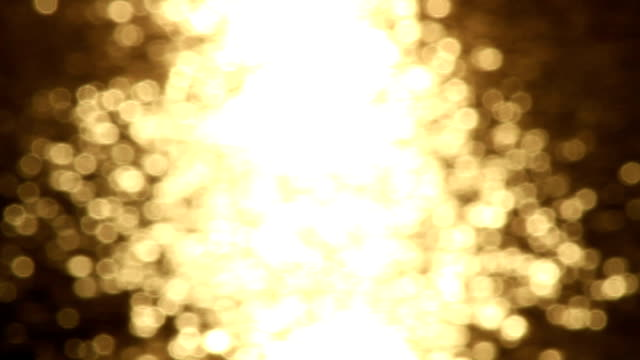 glowing particles