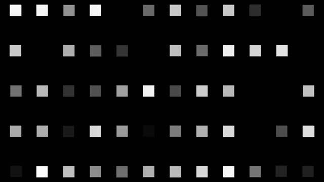 4k glödande kvadratisk form led ljus, loopable, ljus effekt, animation, svart färg bakgrund - prickig bildbanksvideor och videomaterial från bakom kulisserna