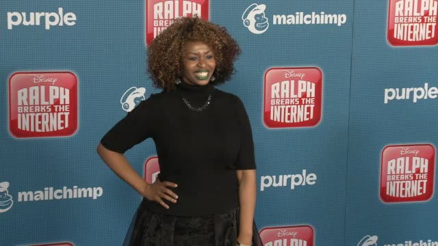 """glozell green at the """"ralph breaks the internet"""" world premiere at the el capitan theatre on november 05, 2018 in hollywood, california. - el capitan theatre stock videos & royalty-free footage"""