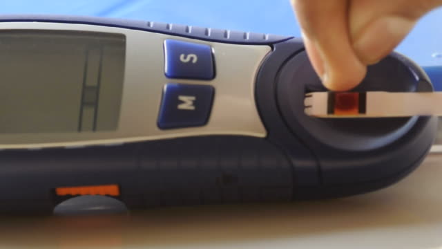 glucometer - glucose stock videos & royalty-free footage