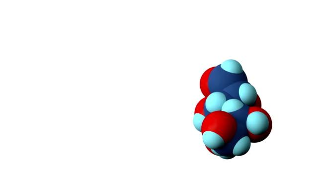 glucose molecule - glucose stock videos & royalty-free footage
