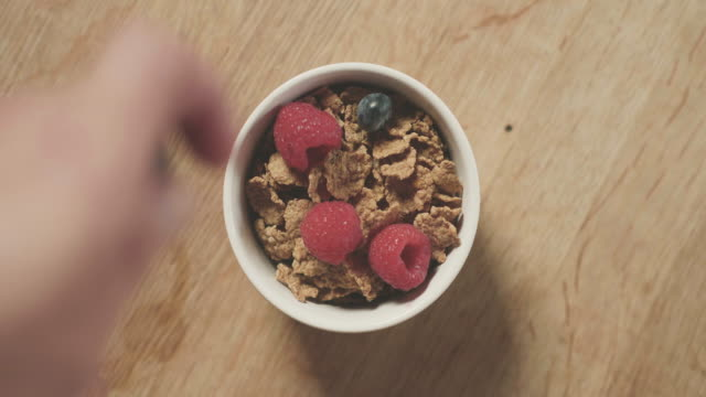 gluten free cereal for breakfast - gluten free stock videos & royalty-free footage