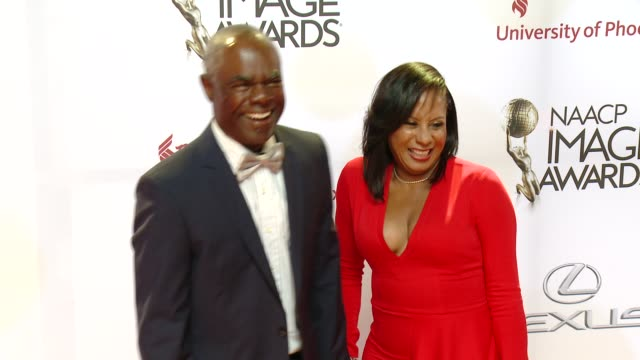 stockvideo's en b-roll-footage met glynn turman at the 46th annual naacp image awards arrivals at pasadena civic auditorium on february 06 2015 in pasadena california - pasadena civic auditorium