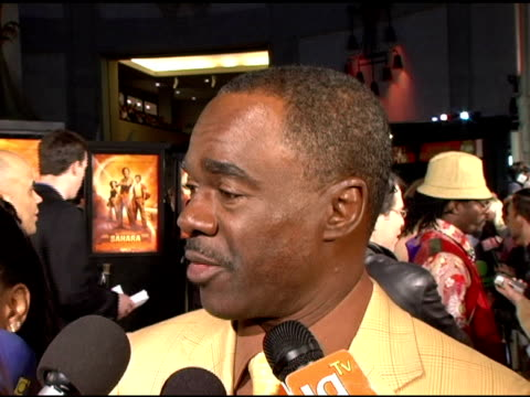 Glynn Turman on his character Dr Frank Hopper in the film working with Penelope Cruz in the film including her seriousness and professionalism...