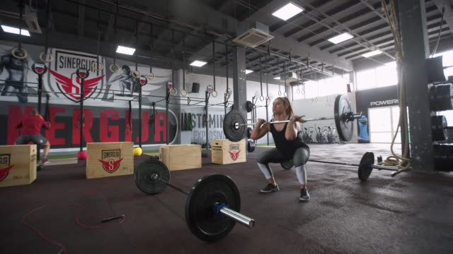 go hard or go home! - cross training stock videos & royalty-free footage