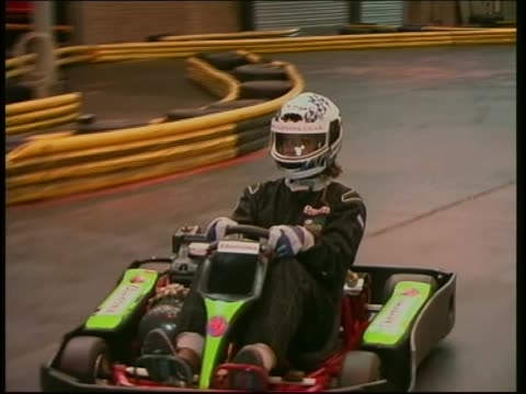 Go Kart Racing Footage