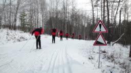 Go skiing, Loop