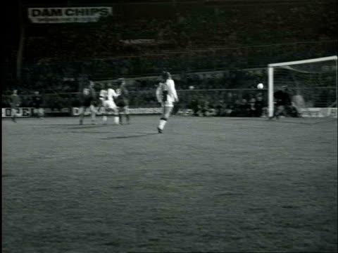 Goal scoring header from Johan Cruijff Ajax Bayern Munchen / Amsterdam NoordHolland Netherlands