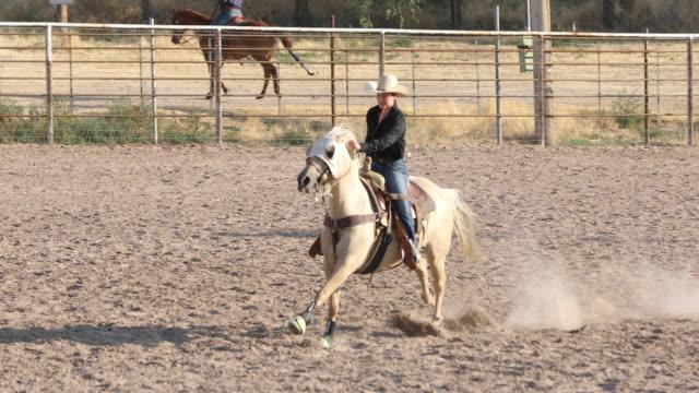 Geit moulinette op een Rodeo